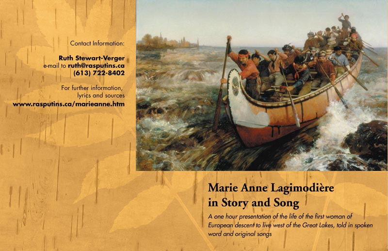 Marie-Anne Lagimodiere CD cover